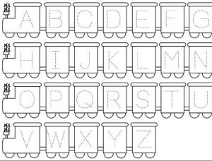 letter-tracing-worksheet